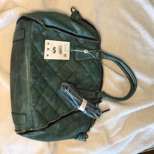 Cute Teal Handbag 100% Vegan